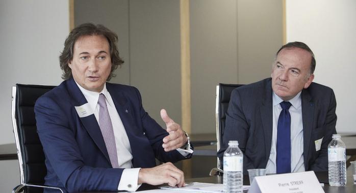 Pierre Streiff et Pierre Gattaz © DR