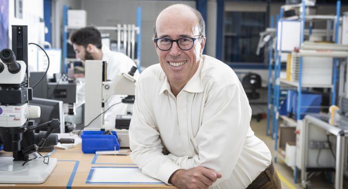 Philippe Poncin, président de Minitubes