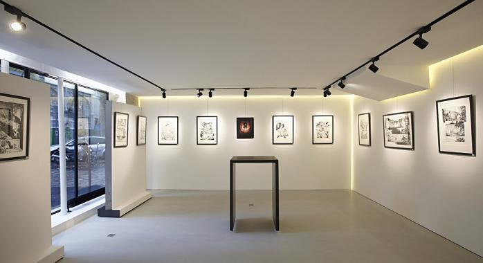 © Glénat - La galerie Glénat, à Paris.