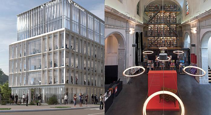 © Wilmotte & Associés Architectes - Les futurs bureaux parisiens des Éditions Glénat, à Boulogne, signés par l'architecte Wilmotte.