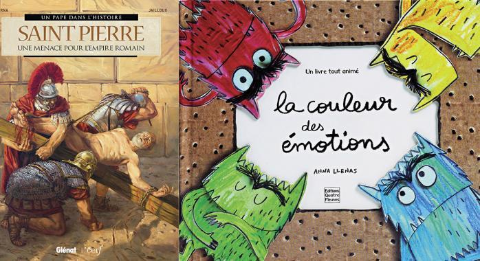 Reprises en 2018 par Glénat, les Éditions Quatre Fleuves publient notamment le best-seller La Couleur des émotions.