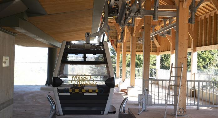 la télécabine du ZooParc de Beauval