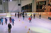 balai ballon à la patinoire de Vaujany