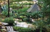 Le Jardin des Fontaines Pétrifiantes