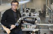 Pierre Chabloz a travaillé avec le CEA pour mettre au point une prothèse de genou électronique.