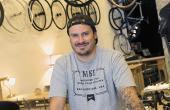 Arnaud Goyer, gérant du magasin DH Bicycles.