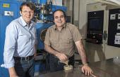 Bruno Robin, président, et Gilbert Durand, directeur général de Leptons Technologies.