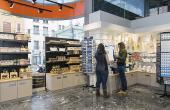 Une vaste offre de produits de l'Isère est disponible dans la nouvelle boutique agrandie.