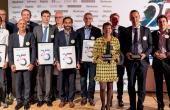 lauréats Prix Entrepreneur de l'année 2017