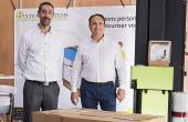 Cyrille Vuarchex, directeur des achats, et Franck Laplaize, directeur national des ventes.