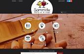 page d'accueil du site Sommelix
