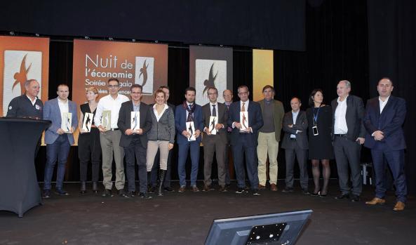 lauréats Trophées Présences 2017