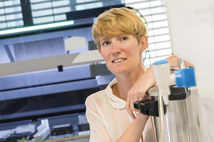 Marie-Gabrielle Jouan, PDG de BGene Genetics