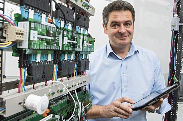 Christophe Guyard, directeur général de Delta Dore EMS.