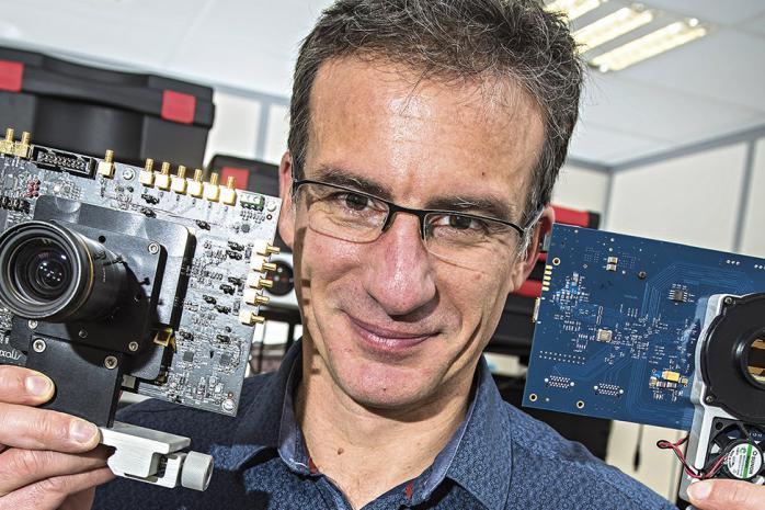 Philippe Rommeveaux a entre les mains les clés des technologies du futur.