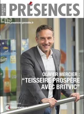 """Olivier Mercier : """"Teisseire prospère avec Britvic"""""""