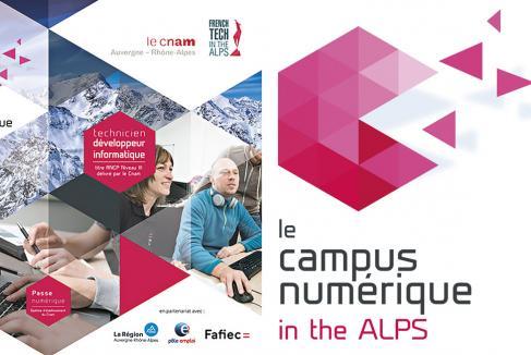 Recrutez vos futurs développeurs web au Campus numérique in the Alps