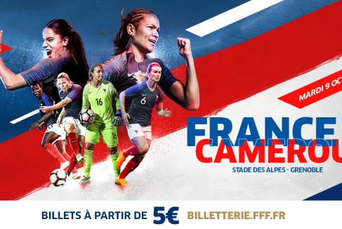 France Cameroun : mardi 9 octobre 2018  au Stade des Alpes à Grenoble