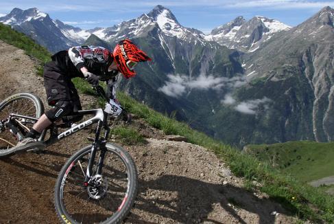 Tremplin pour Les 2 Alpes