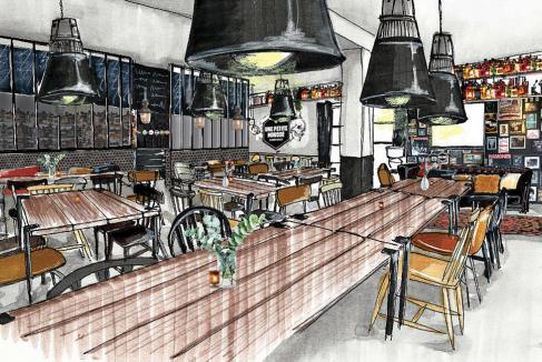 Un bar-restaurant pour Une Petite Mousse