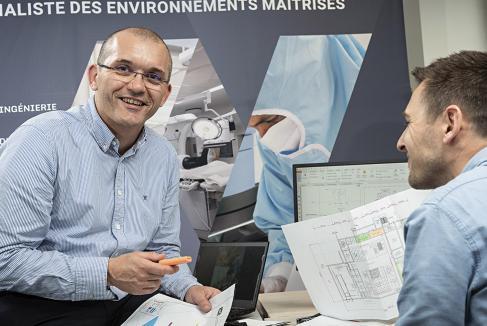 Faure QEI, la haute maîtrise en ingénierie des salles propres