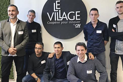 Quatre start-up au sein du Village grenoblois du Crédit Agricole