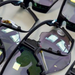 Les lunettes sportives connectées de Microoled