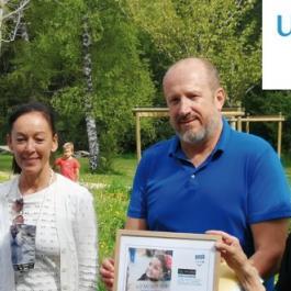 Signature de l'accord entre l'Unicef et Valsem Entreprise Mécène